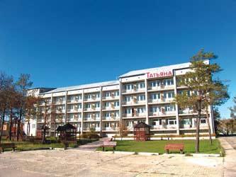 Пансионаты Коблево - отдых на Черном море