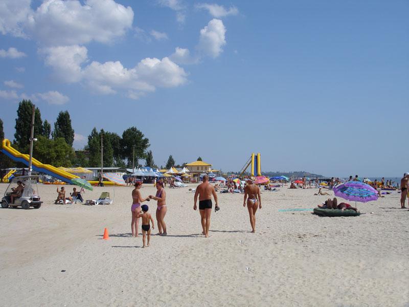 коблево фото пляжи